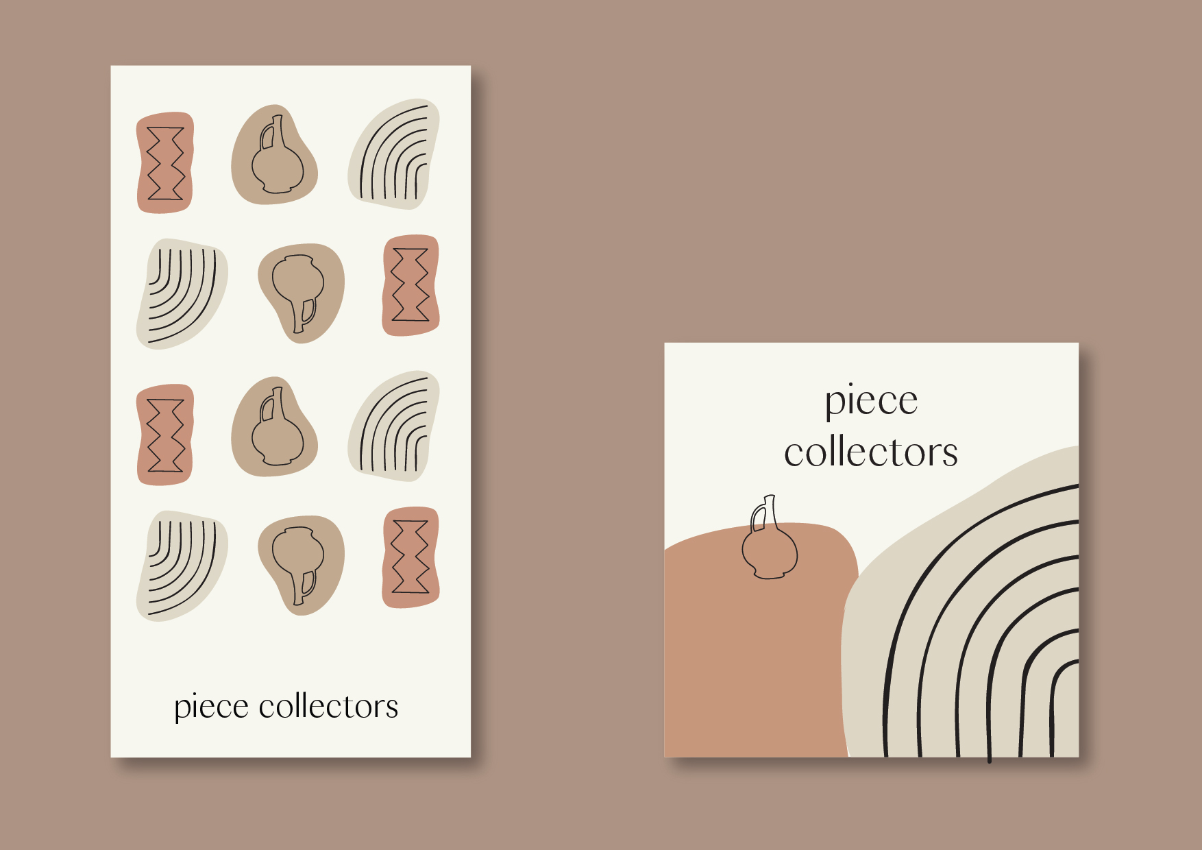 Piece Collectors Brand Identity