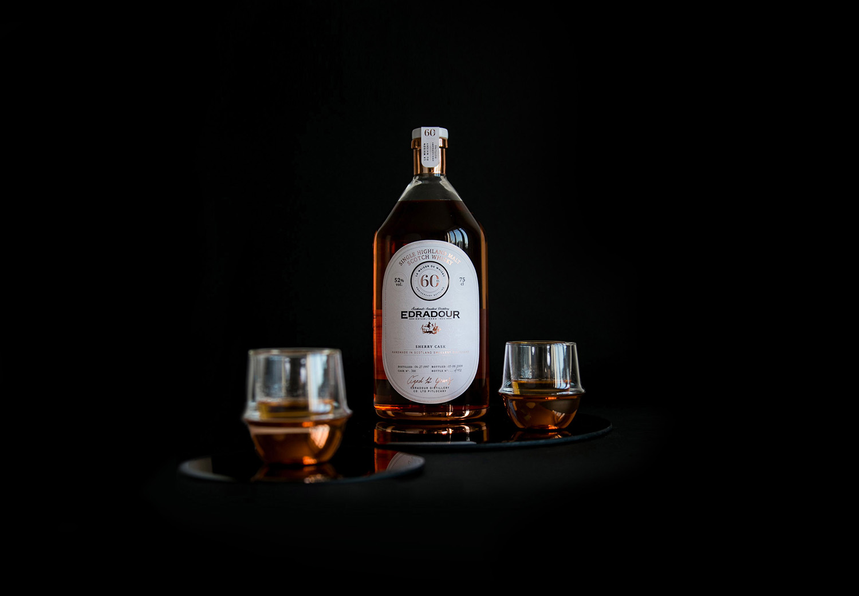 Edradour Whisky Concept Bottle