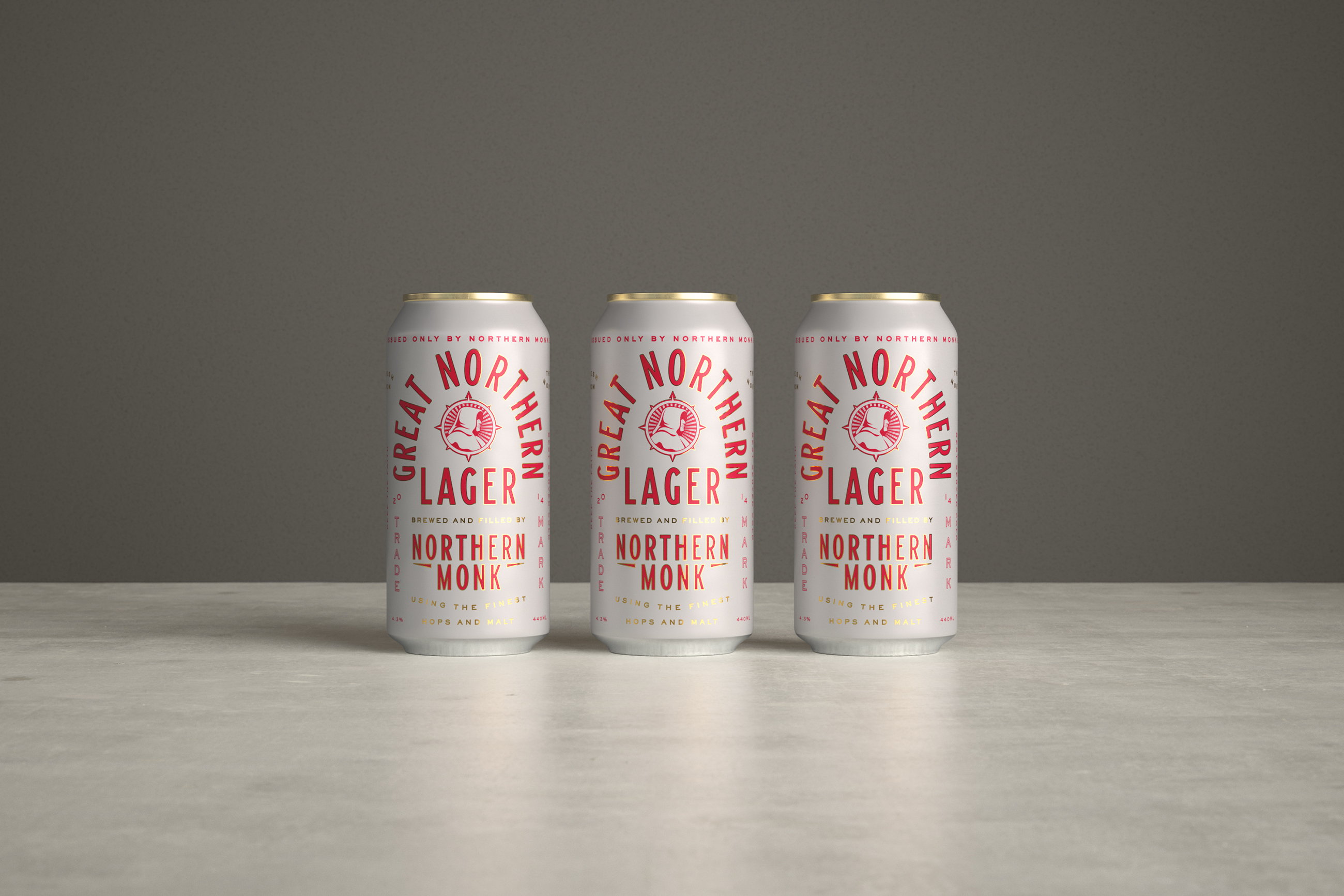 Classic Design for Northern Monk's Classic Lager