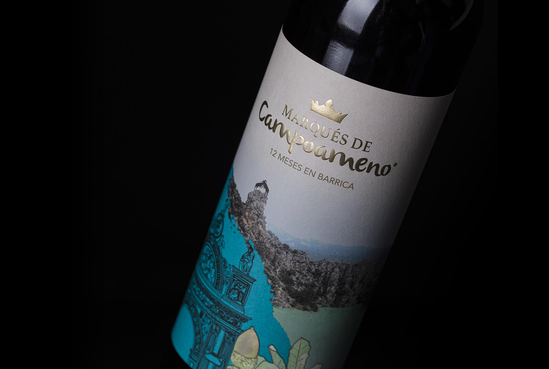 """Campoameno"" Wine – A Tribute to Jaén The Land Where Its Wines Are Born"