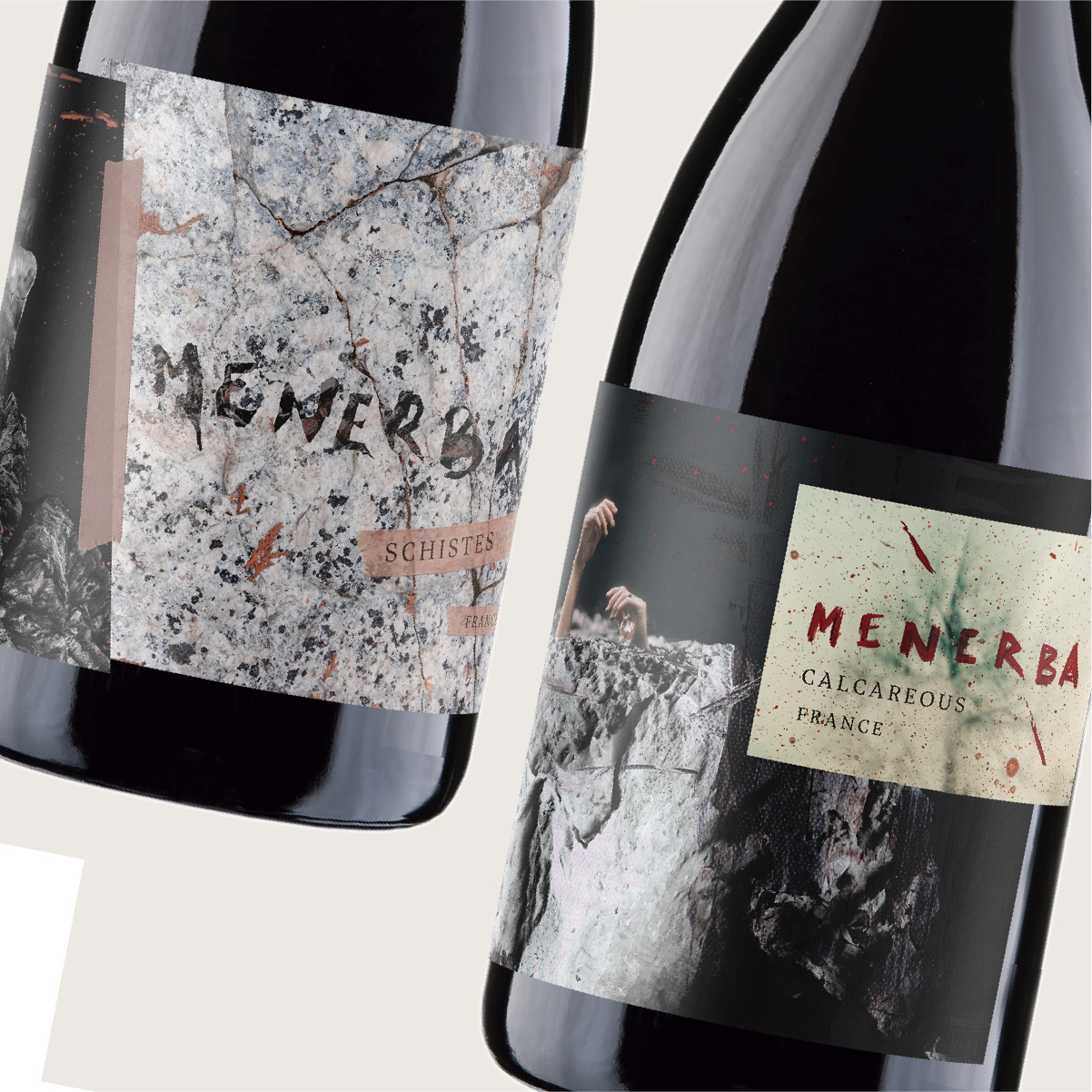 Menerba Wine Label Design