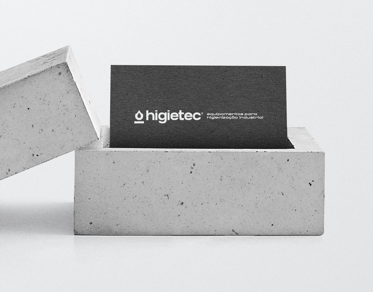 New Logo and Identity for Higietec by Neo Saga