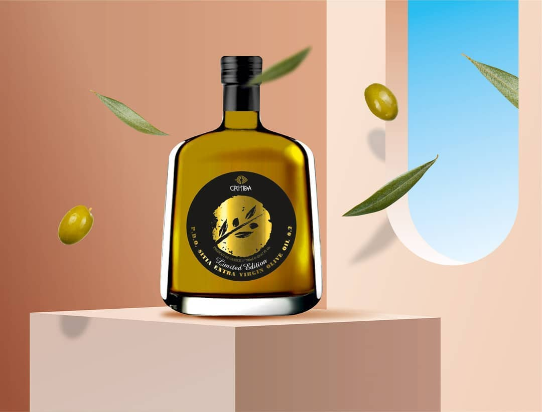 Limited Edition for Critida's Extra Virgin Olive Oil by Leftgpaphic