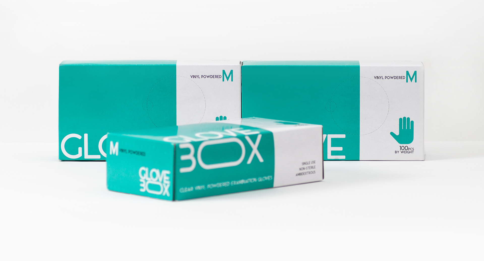 Packaging Design for Glove Box Created by Sowl Creative Studio