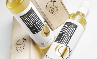 Packaging Design for Chrysi Milia Condiments Product by Sowl Creative Studio