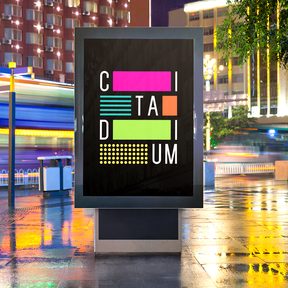 Citadium Shopping Center Brand Identity Development