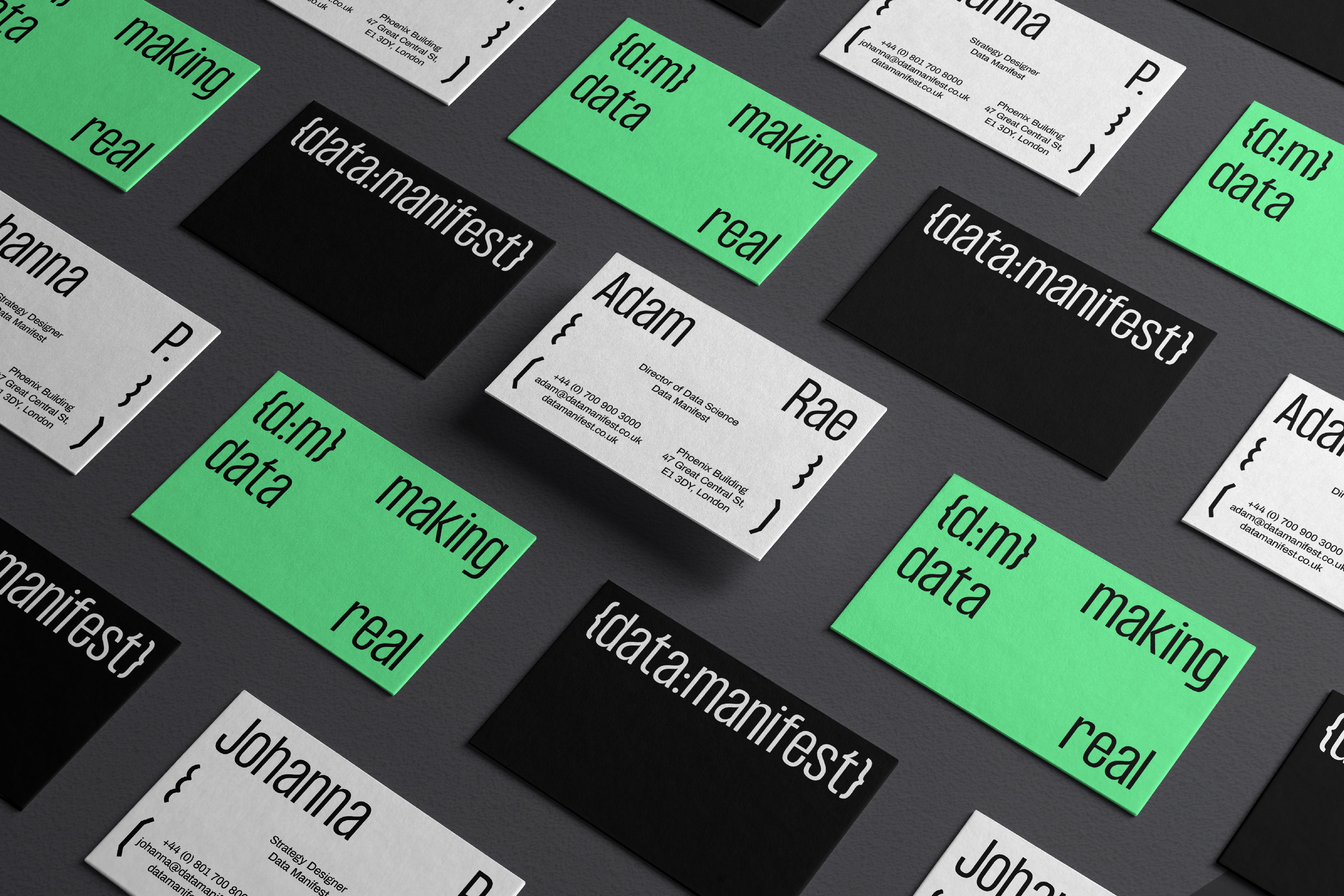 Studio CRONICA Designs a New Identity System for Data Manifest