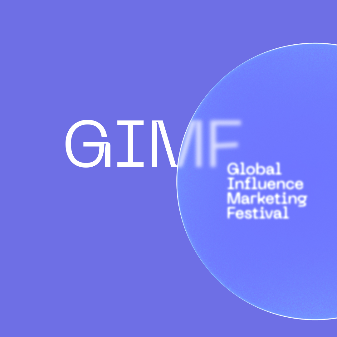 Concept for Brand Identity for Global Influencer Marketing Festival