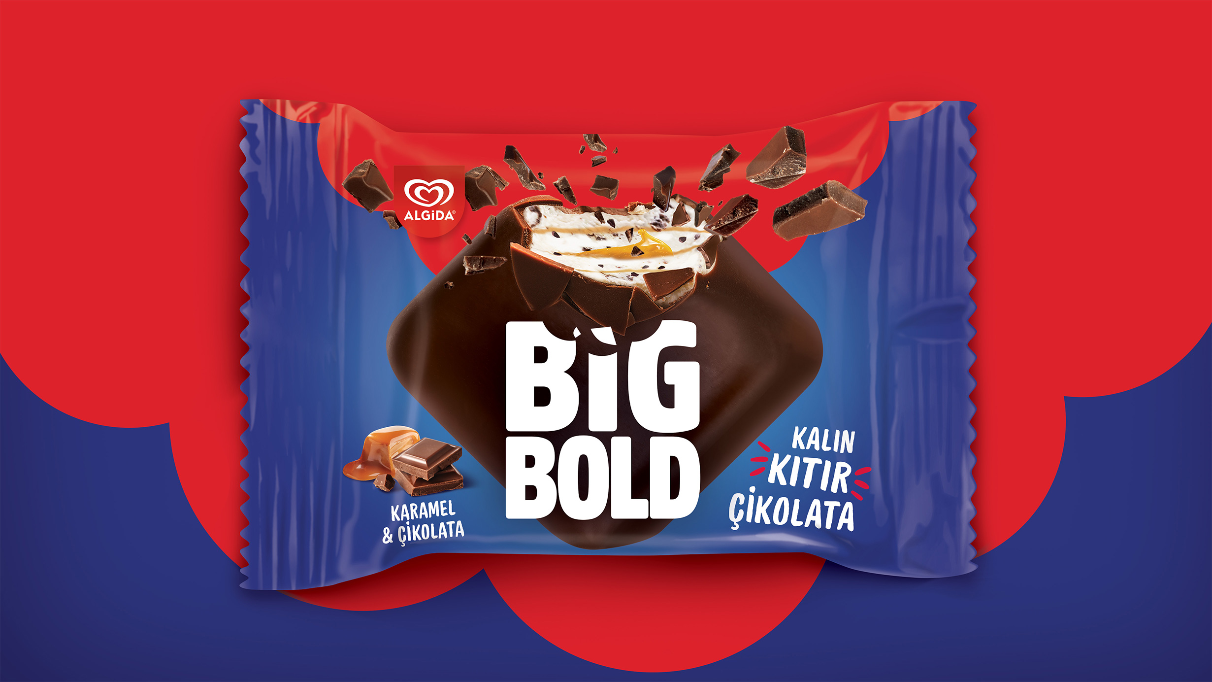 Algida Big Bold Packaging Design from Orhan Irmak Tasarim