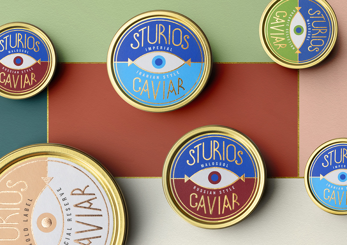 Sturios Brand and Packaging Identity by Lacía