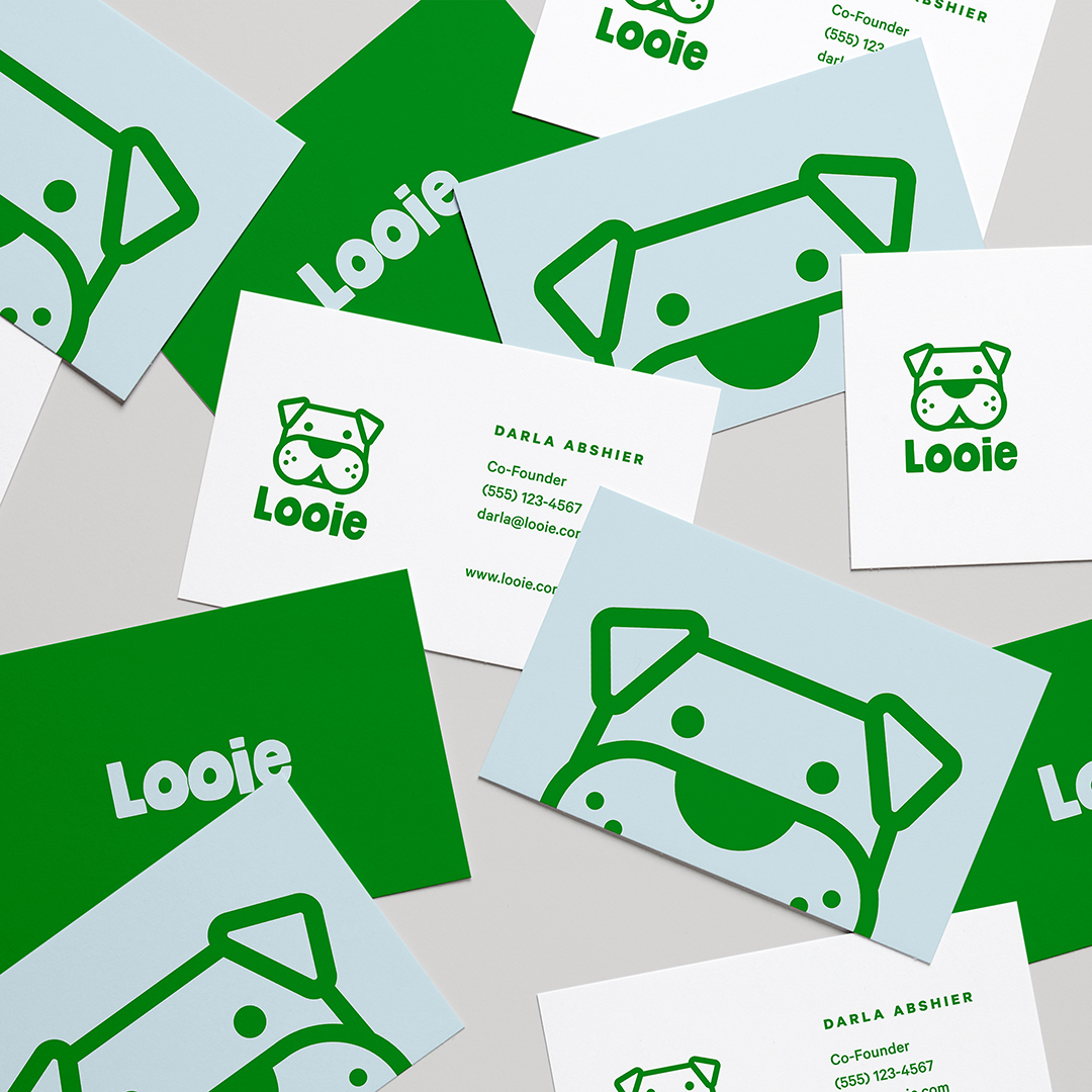 New Brand Identity For Looie – A Brand For Dog Lovers