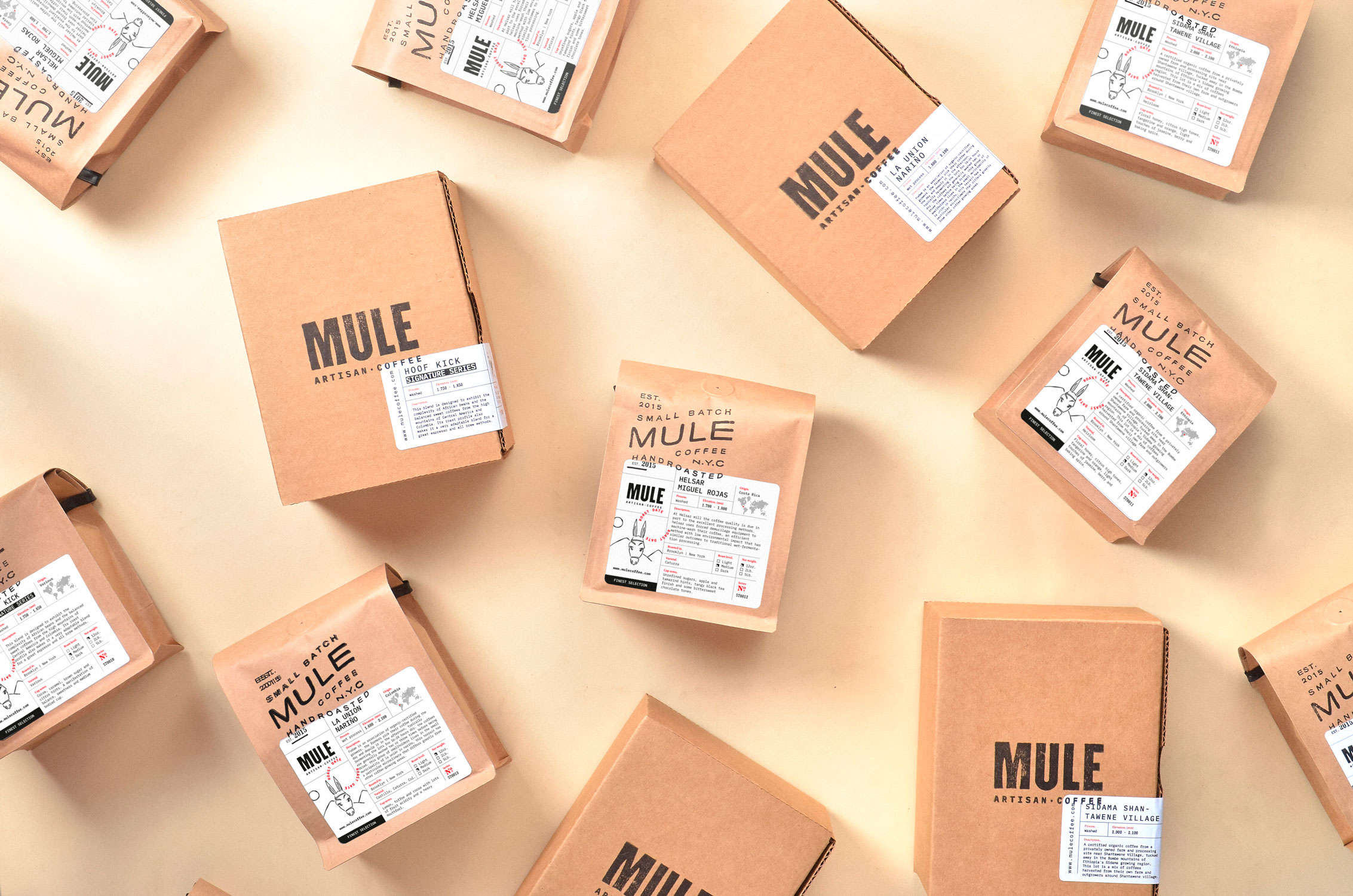 Invade Design Creates the New Brand Identity for Mule Artisan Coffee