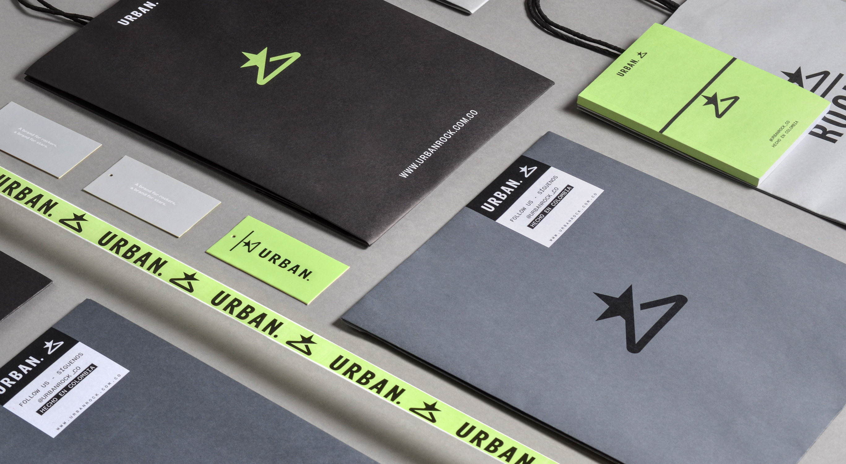 Invade Design Creates Brand Redesign for Urban Rock –  A Street Wear Brand