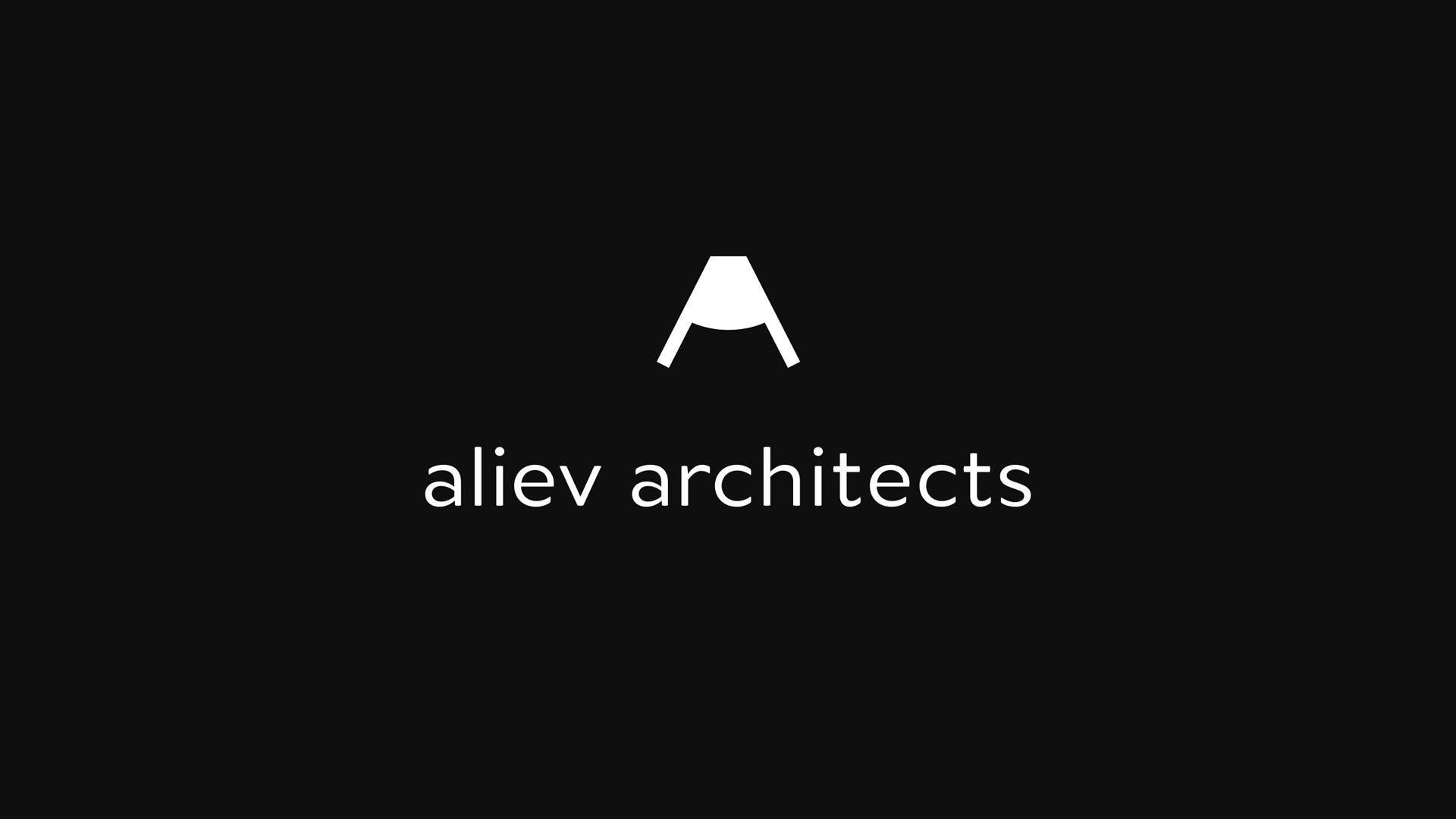 Aliev Ukrainian Architects and Interior Designers Brand Identity by Dmytro Khrunevych