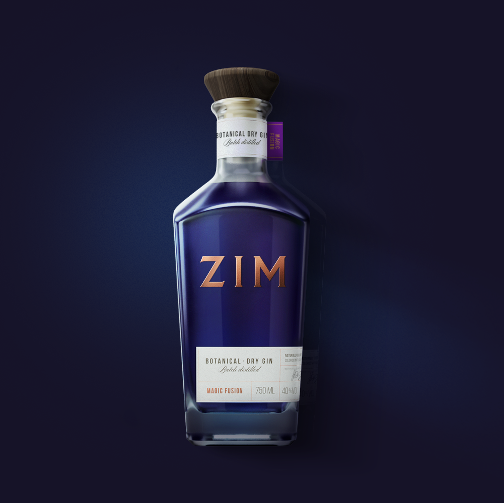 A Fresh New Look to a Magic Colour Changing Gin