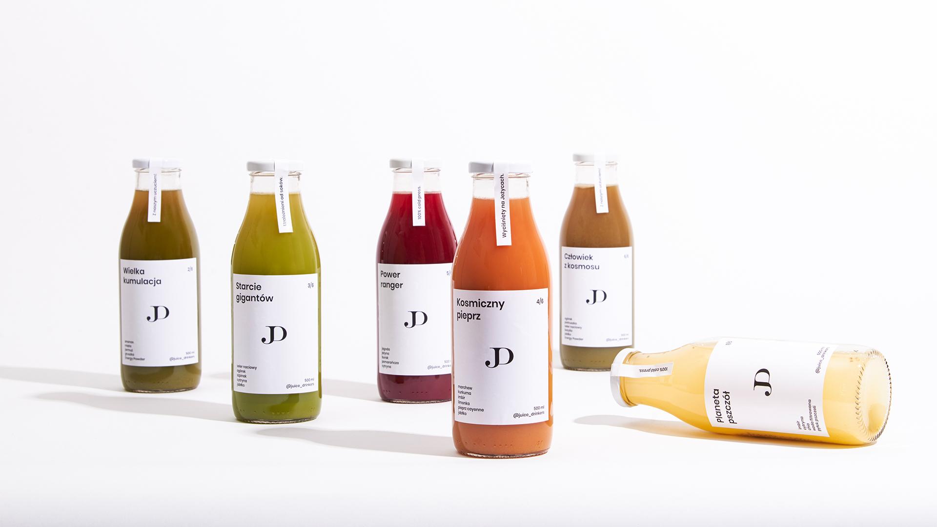 Hugmun Studio Design for Juice Drinkers