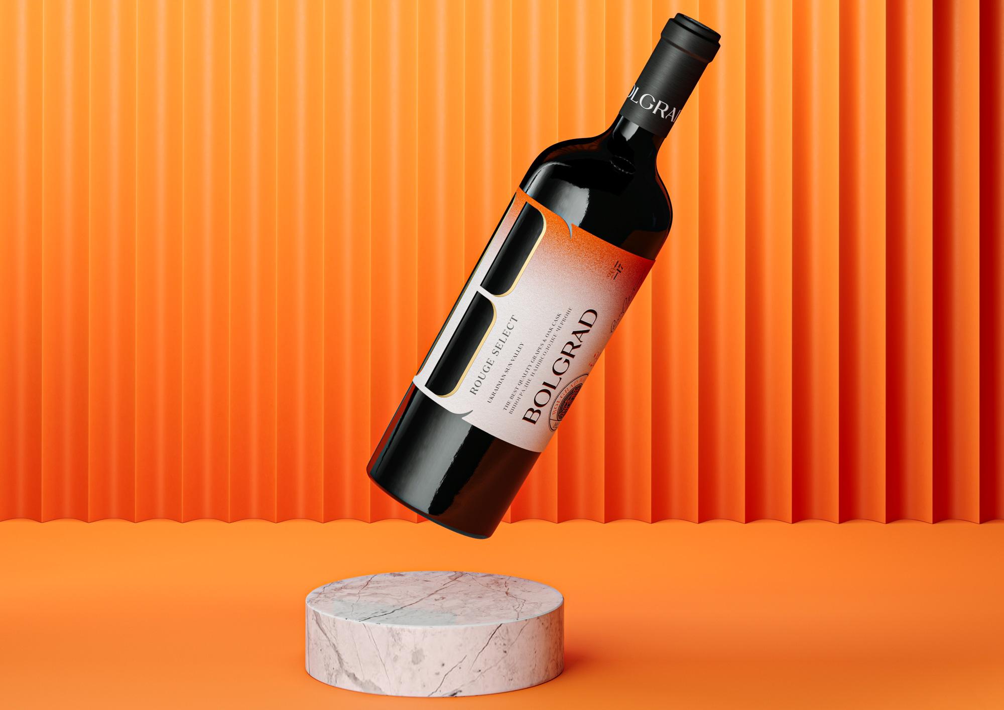 Bolgrad Wine Redesign by Reynolds and Reyner