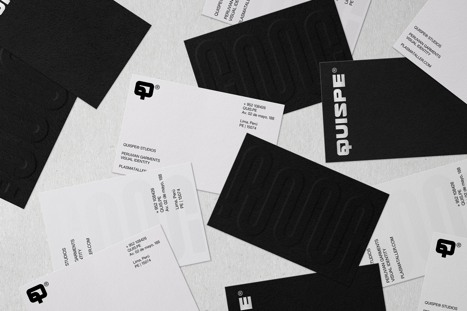 Rebrand and Identity for Quispe, Lima-based Appareal Brand/Movement by Plasma Taller