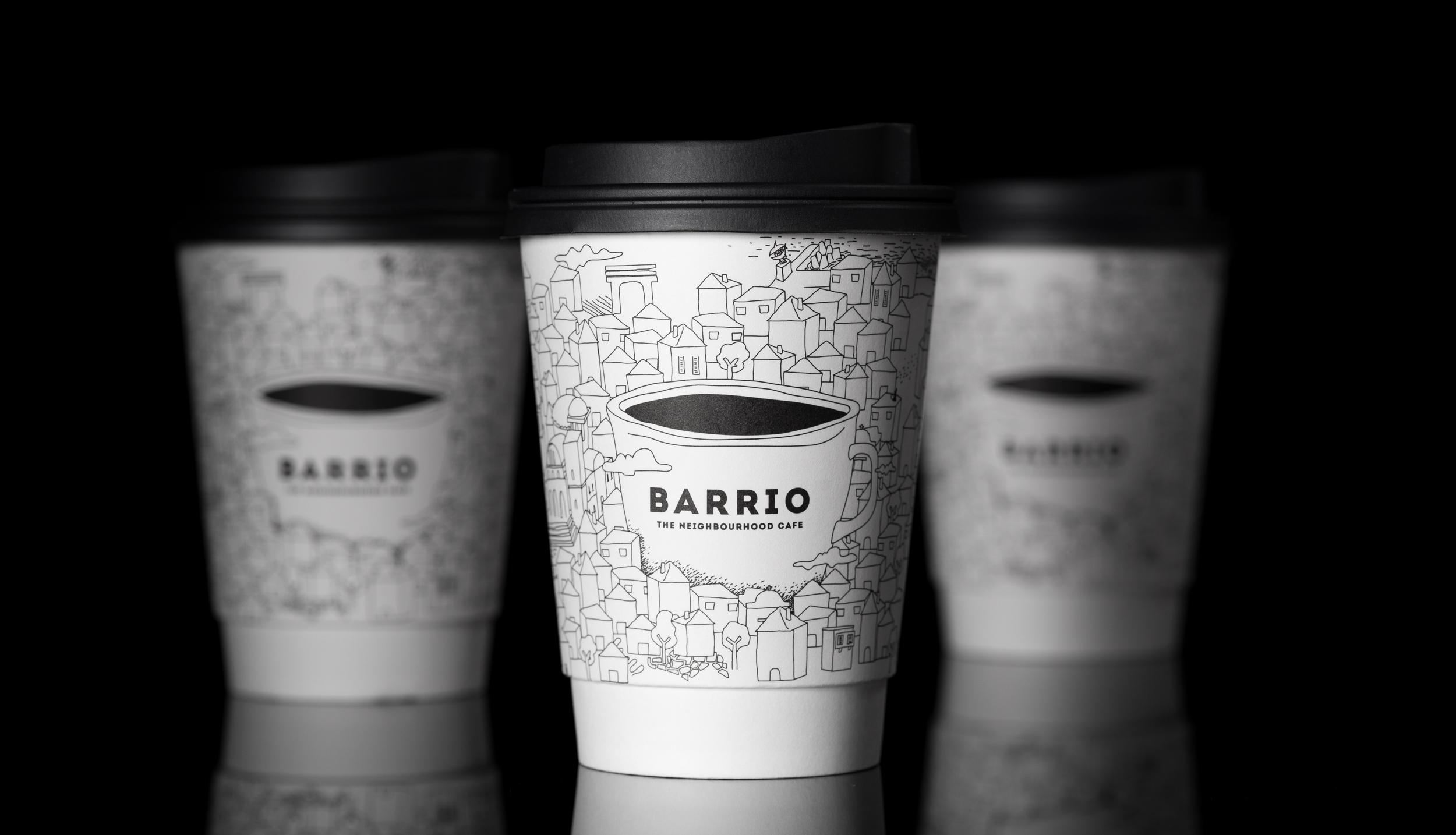 Caparo Design Crew Create Branding for Barrio Cafe – The Neighbourhood Within The Neighbourhood
