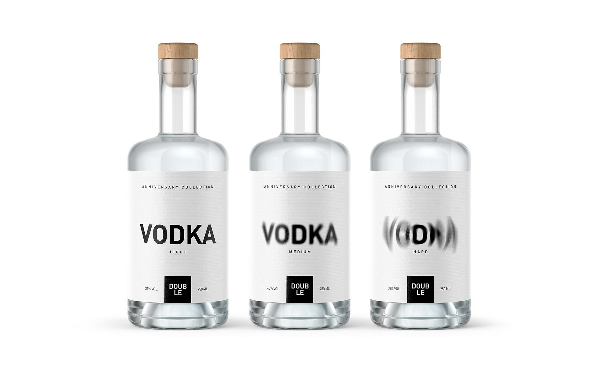Rahim Ismayil Design Concept for Double Vodka Anniversary Collection