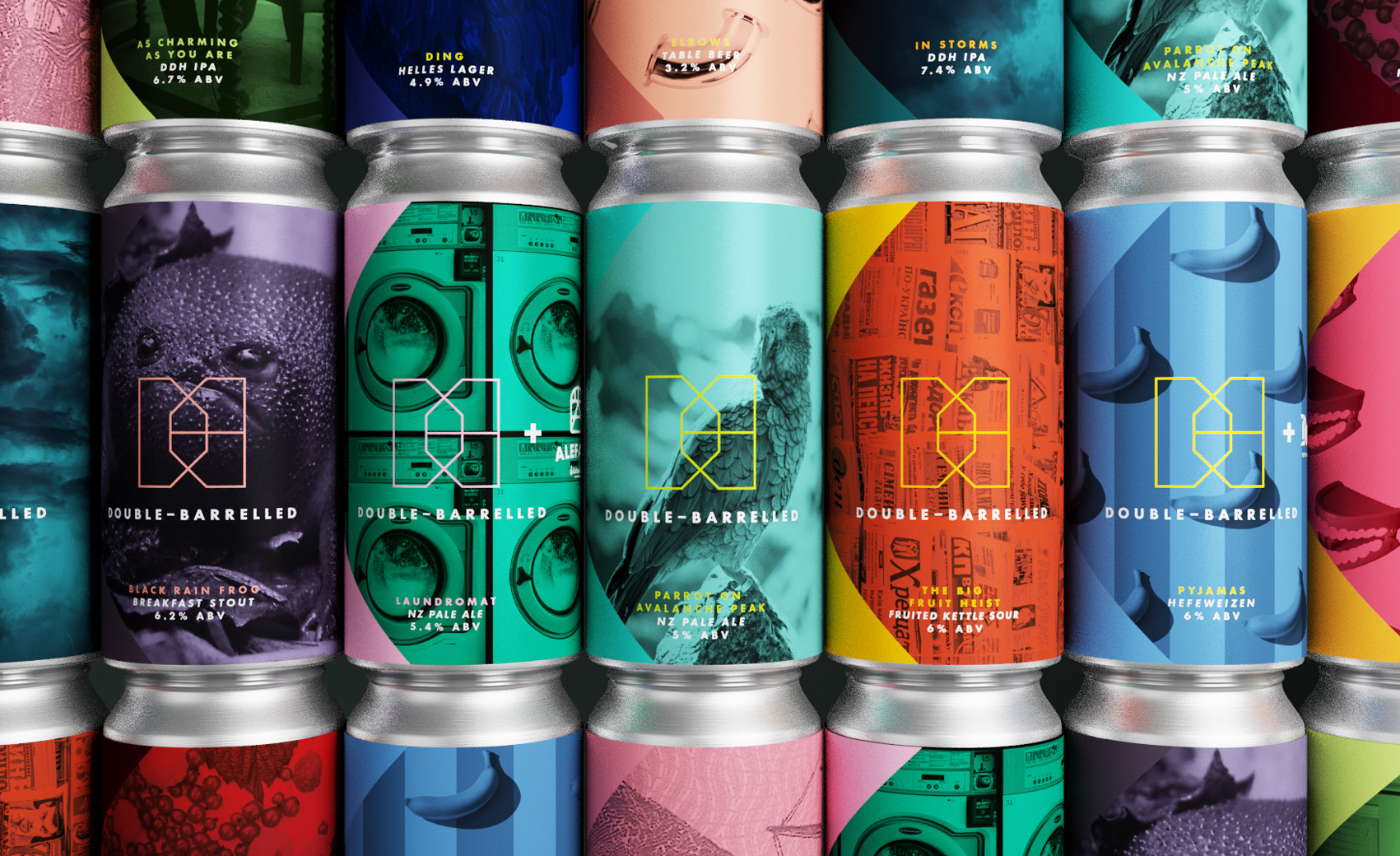 Double-Barrelled Branding: Journeys into Craft Beer by Kingdom & Sparrow