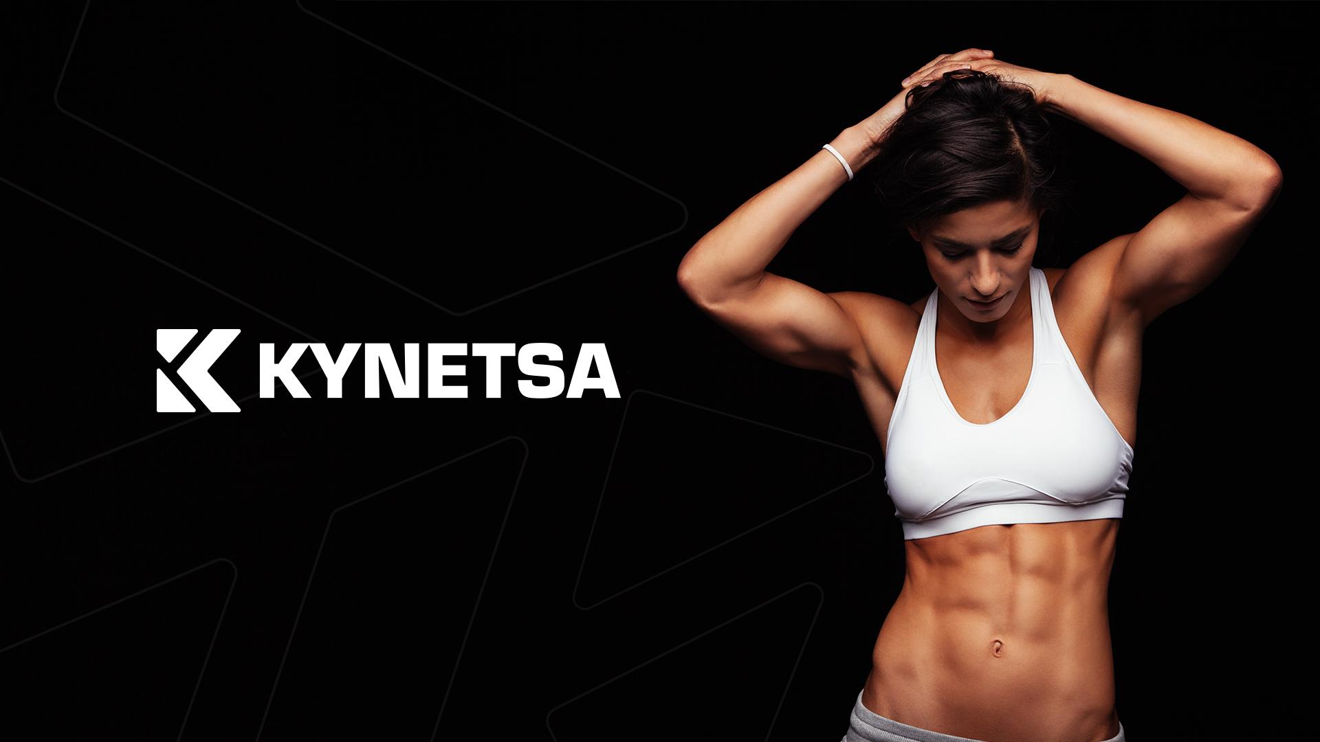 Dejan Tumenko Creates Brand Identity for Kynetsa Fitness Brand