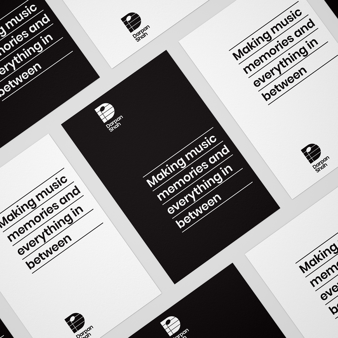 Hit Me Up Design Creates a New Identity for Darpan Shah