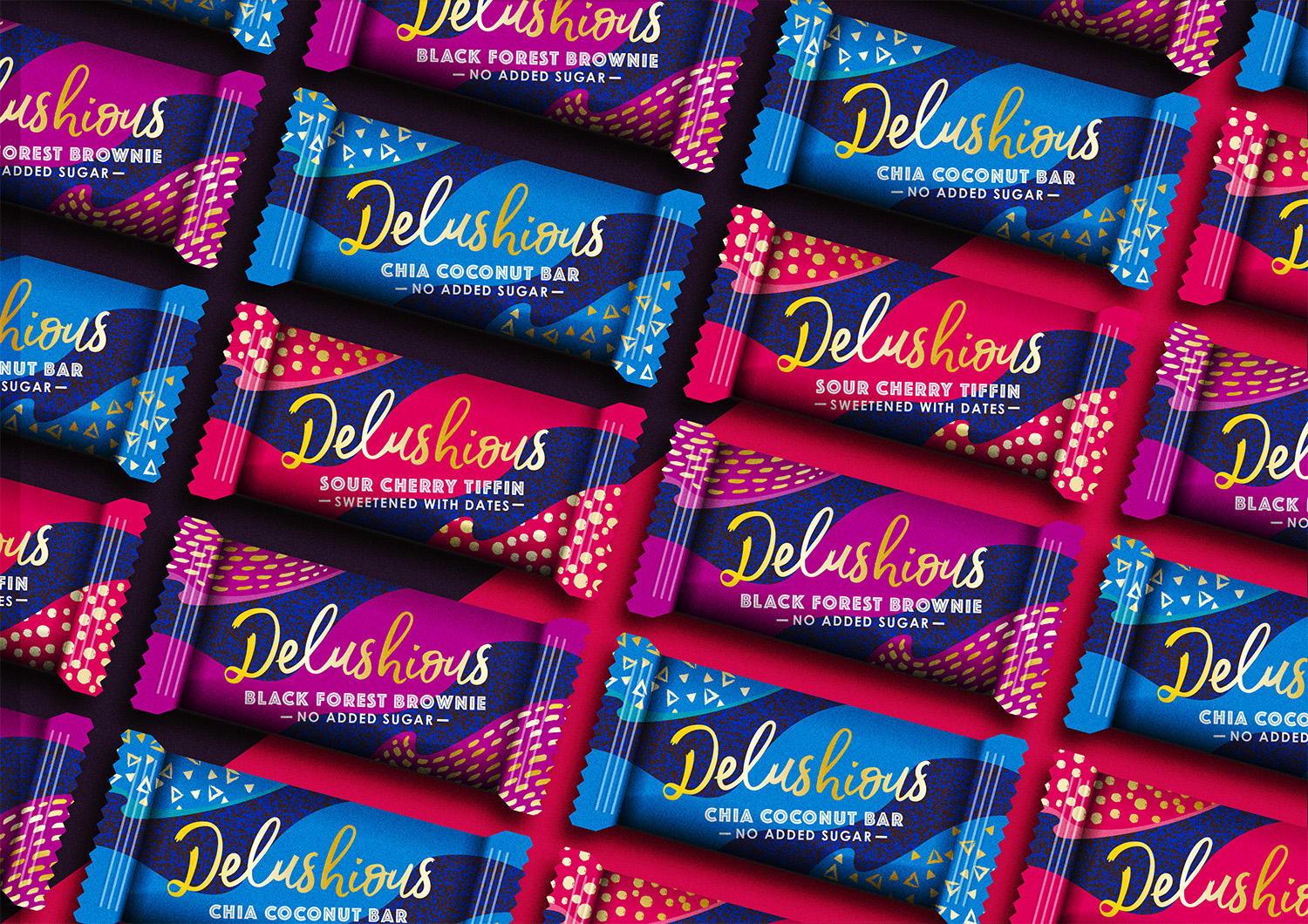 The Space Creative unveils design for new brand Delushious