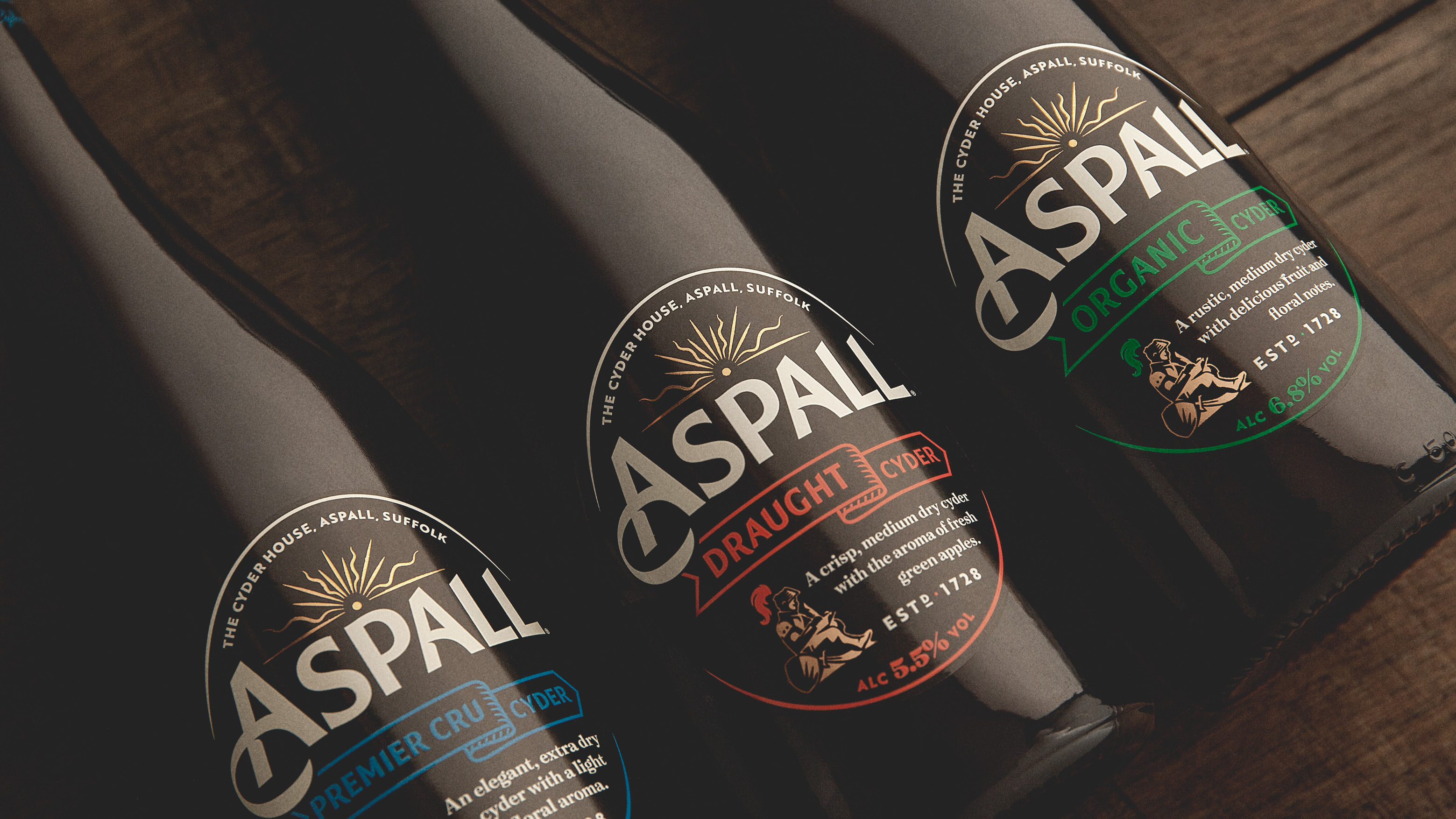 BrandOpus Help Aspall to Become the Cider of Sophistication