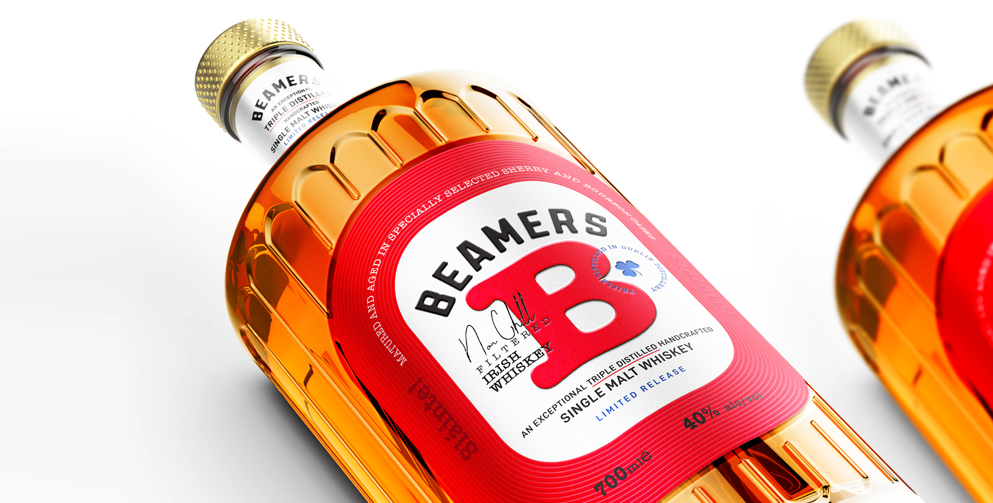 Firstbase Media Gives you a Stunner for your Bar – Beamers Irish Whisky