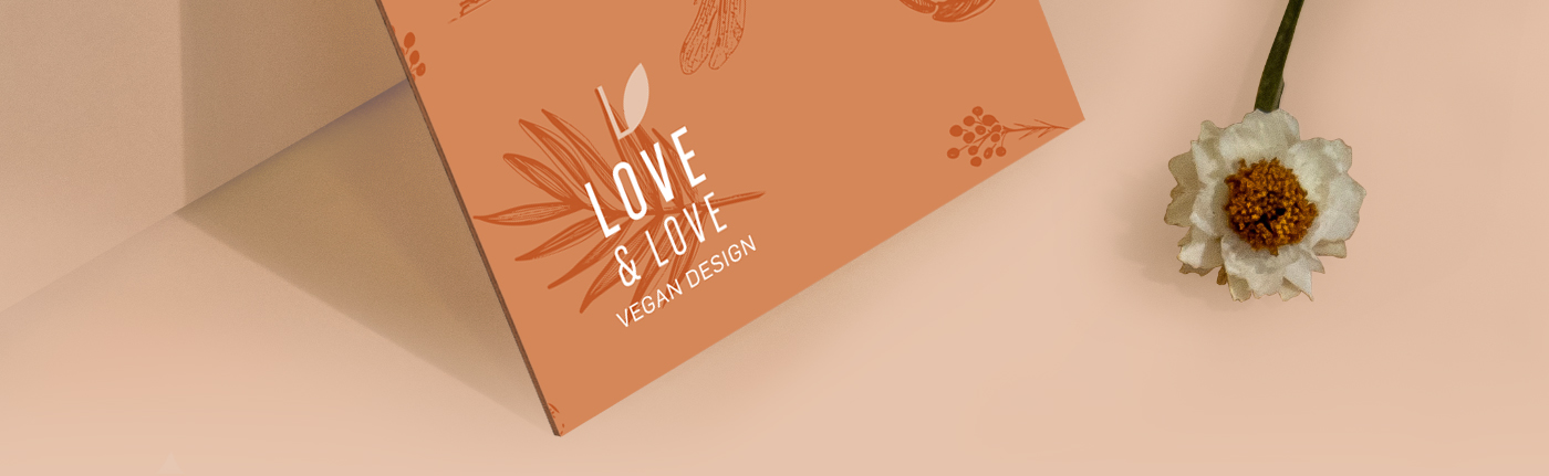 Fernanda Galindo Creates Visual Identity Design for British Vegan Bags and Accessories Brand Love & Love