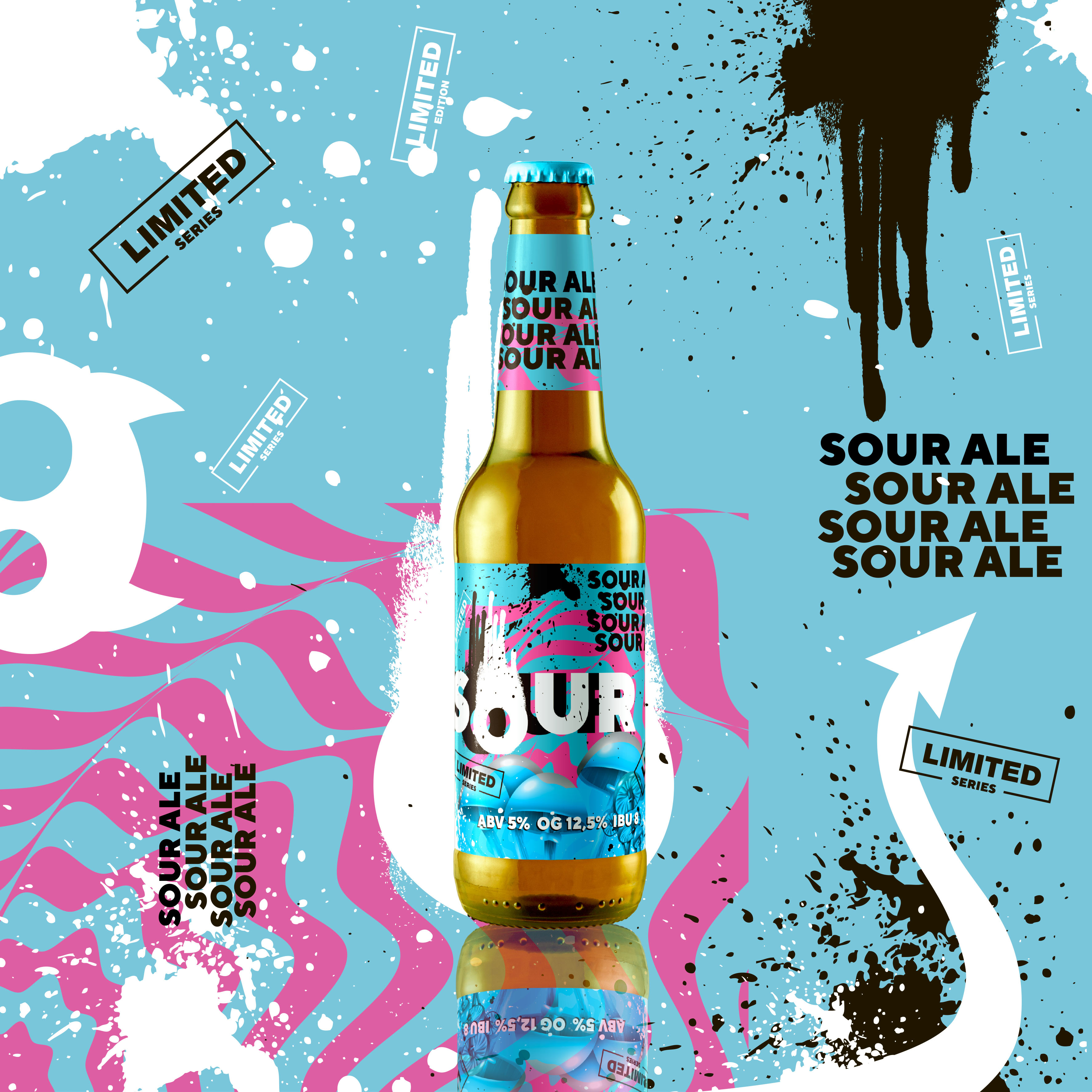 Pvel Reznik Creates New Beer Label Design for Red Cat Brewery Ukraine