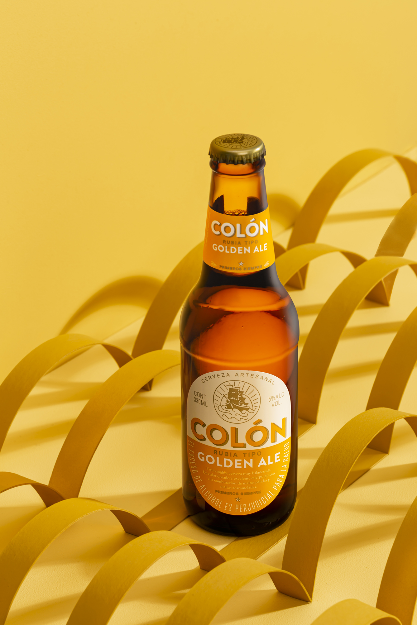 ReDesign of Colombia's First Artisanal Beer Cerveza Colon by S&Co