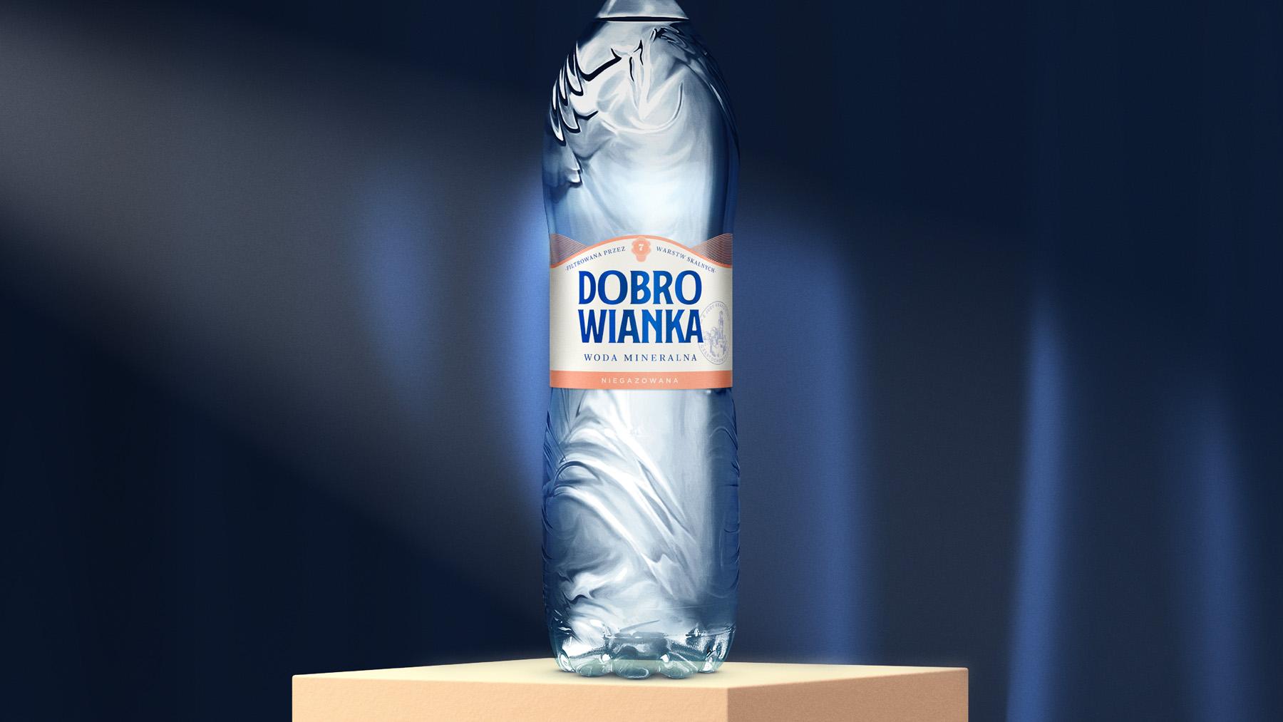 Everland Rejuvenates Danone's Polish Water Brand Dobrowianka