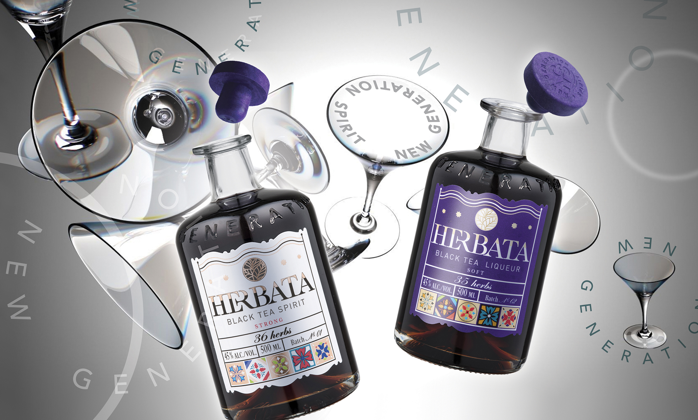 Zhuk Igor Creates Branding and Packaging for Herbata Black Tea Spirit