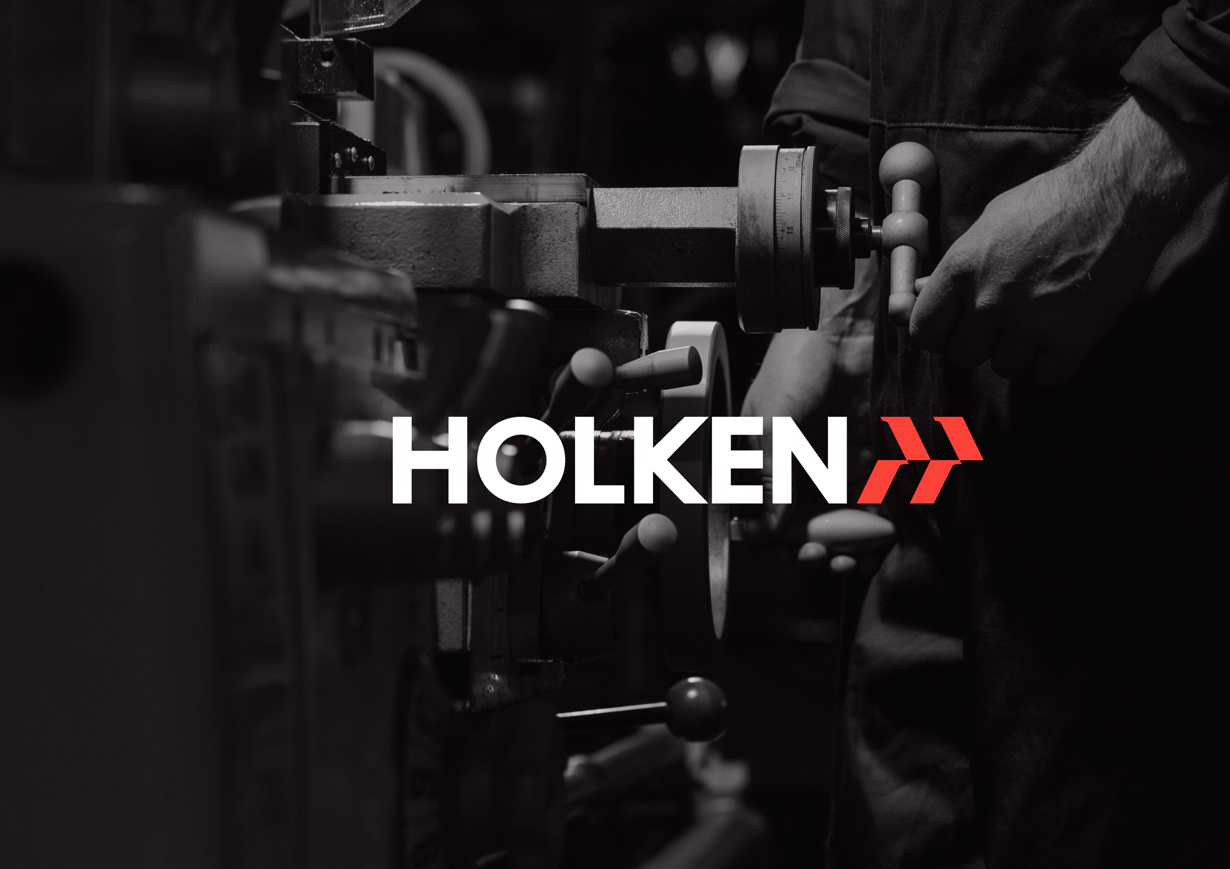 Branding for Holken Manufacturer of Clamping Equipment by ihapstudio