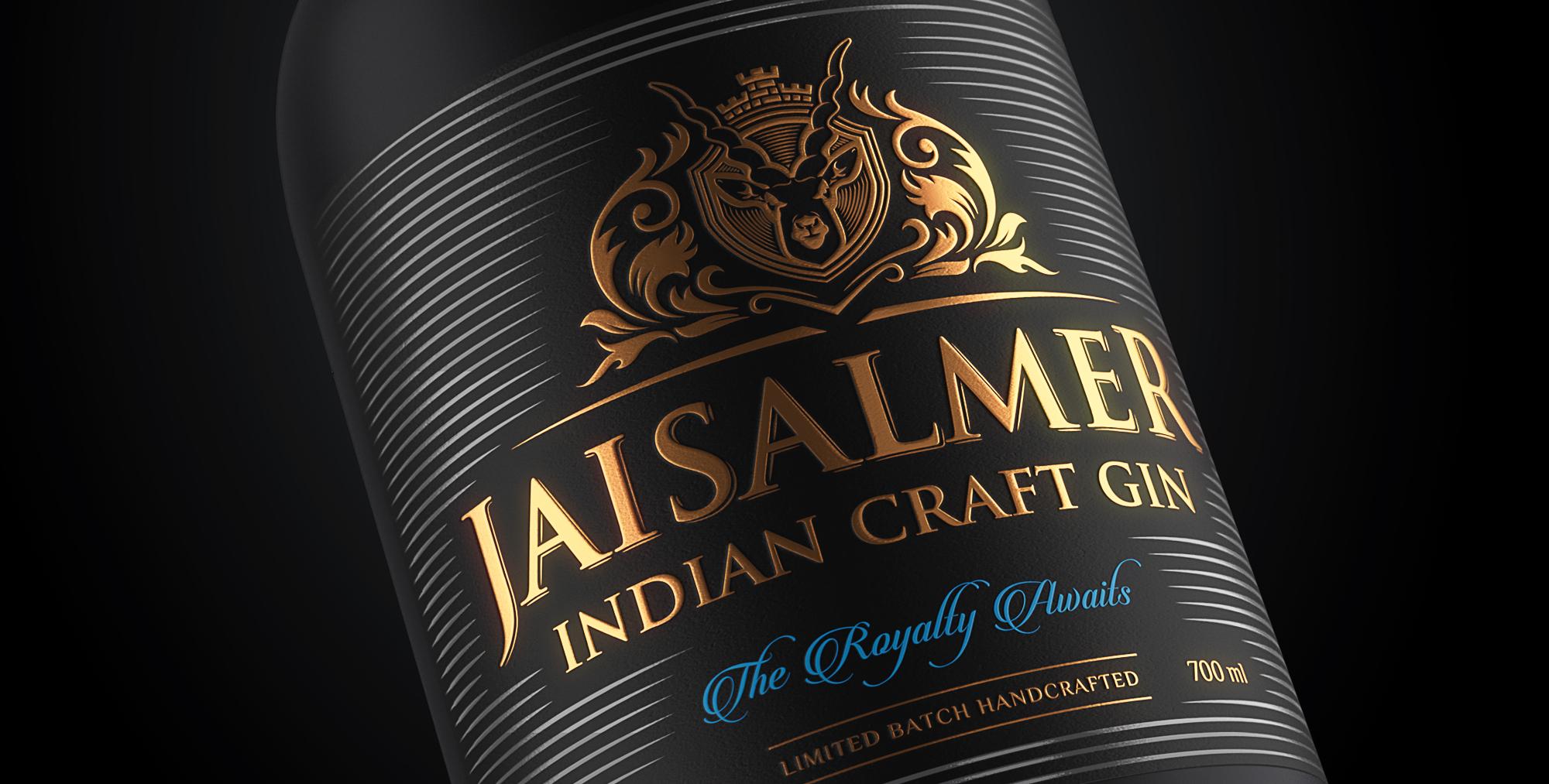 Jaisalmer Craft Gin Designed by Firstbase