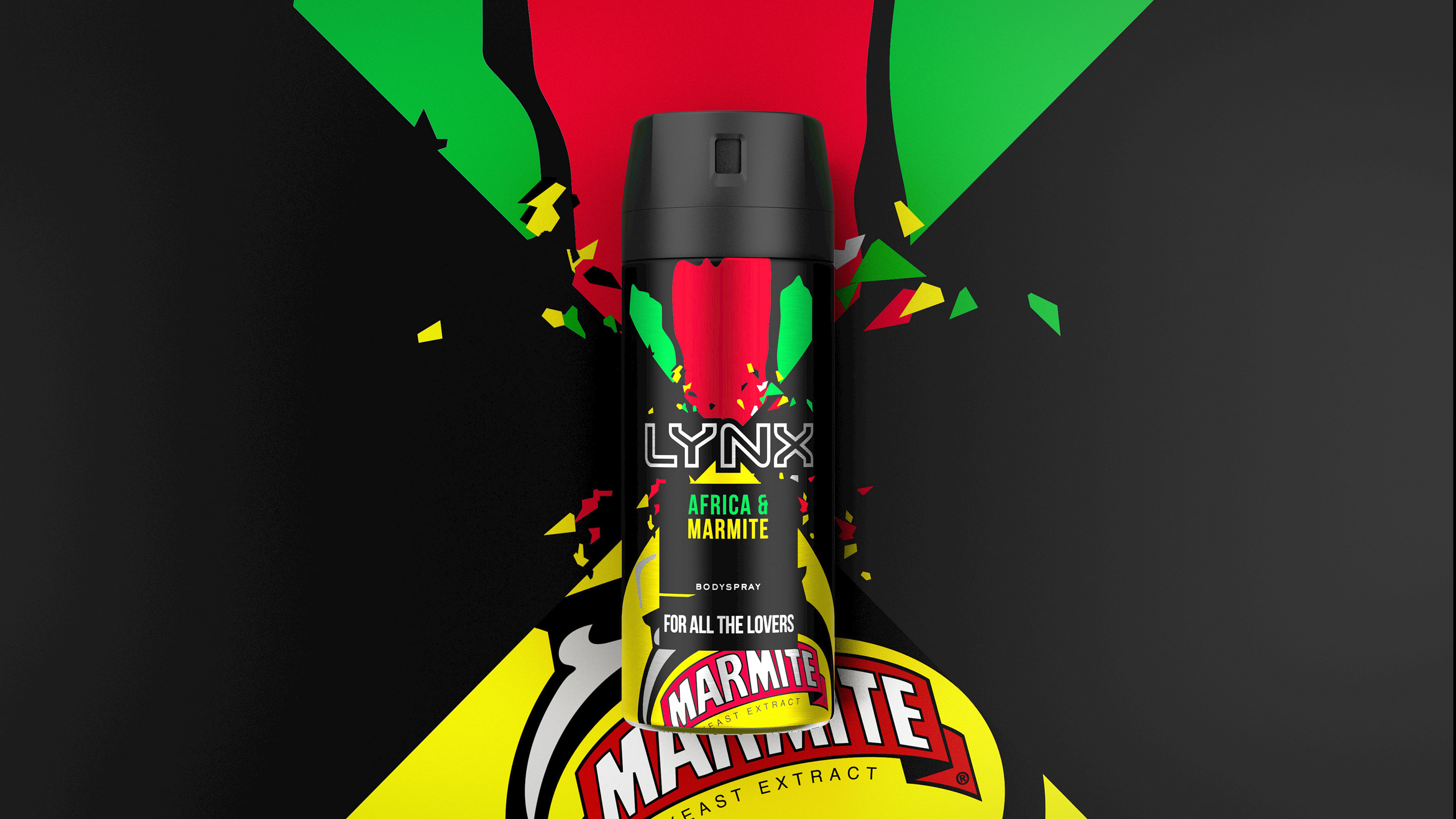 LYNX Africa Collides with Marmite for Bold New Range by PB Creative