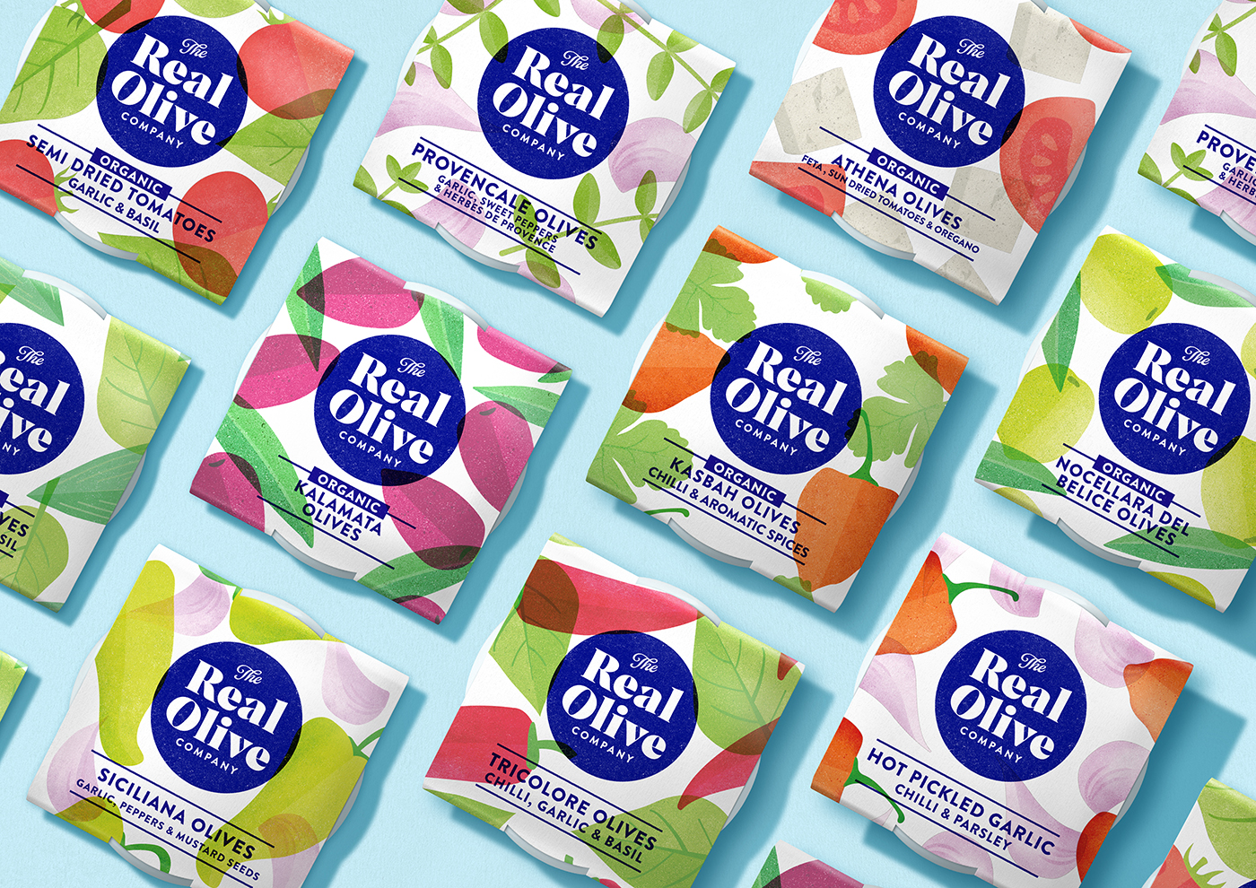 The Space Creative Rebrands The Real Olive Company
