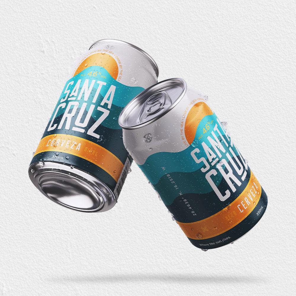 Pennybridge Creative Develops New Beer Brand Santa Cruz