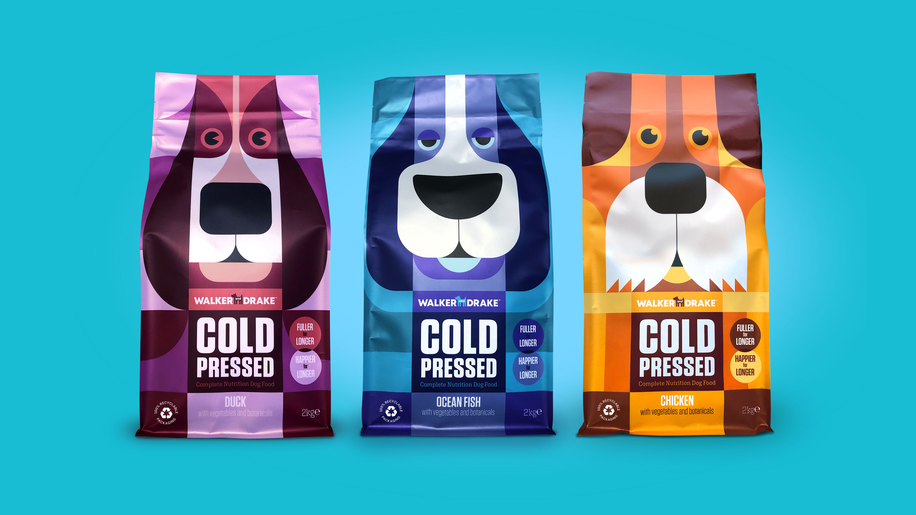 New Brand Identity for Start-Up Dog Food Brand