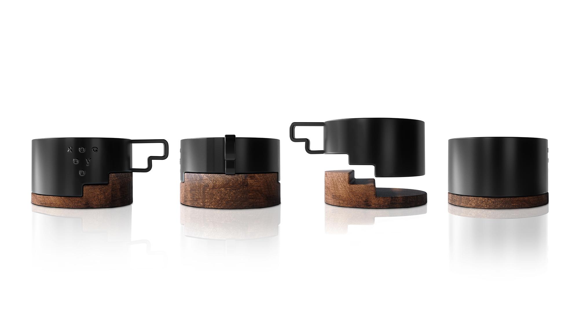 Luminous Design Group Designs Cup for Xocoyo