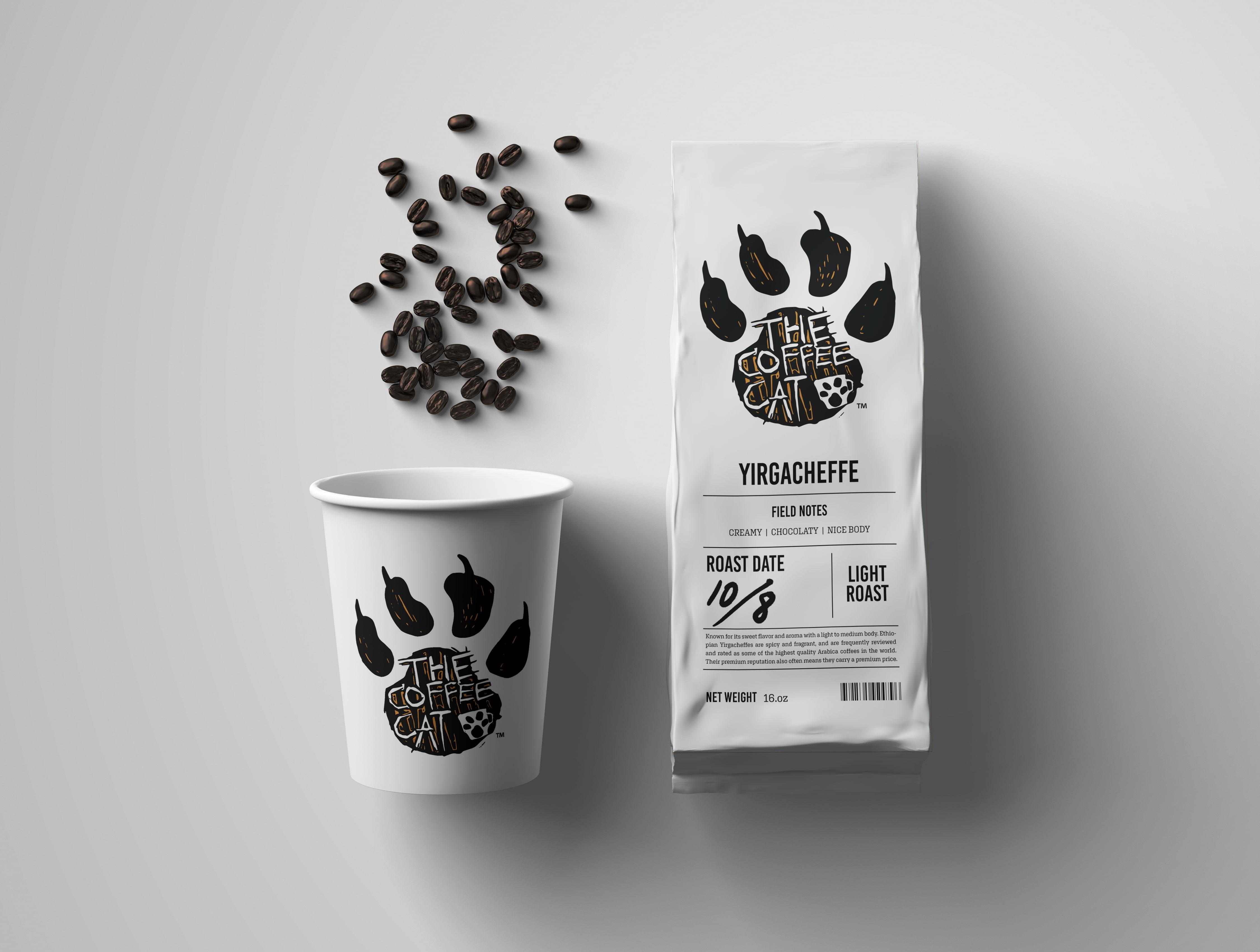 The Coffee Cat – Café Concept Design by Winterlich Design