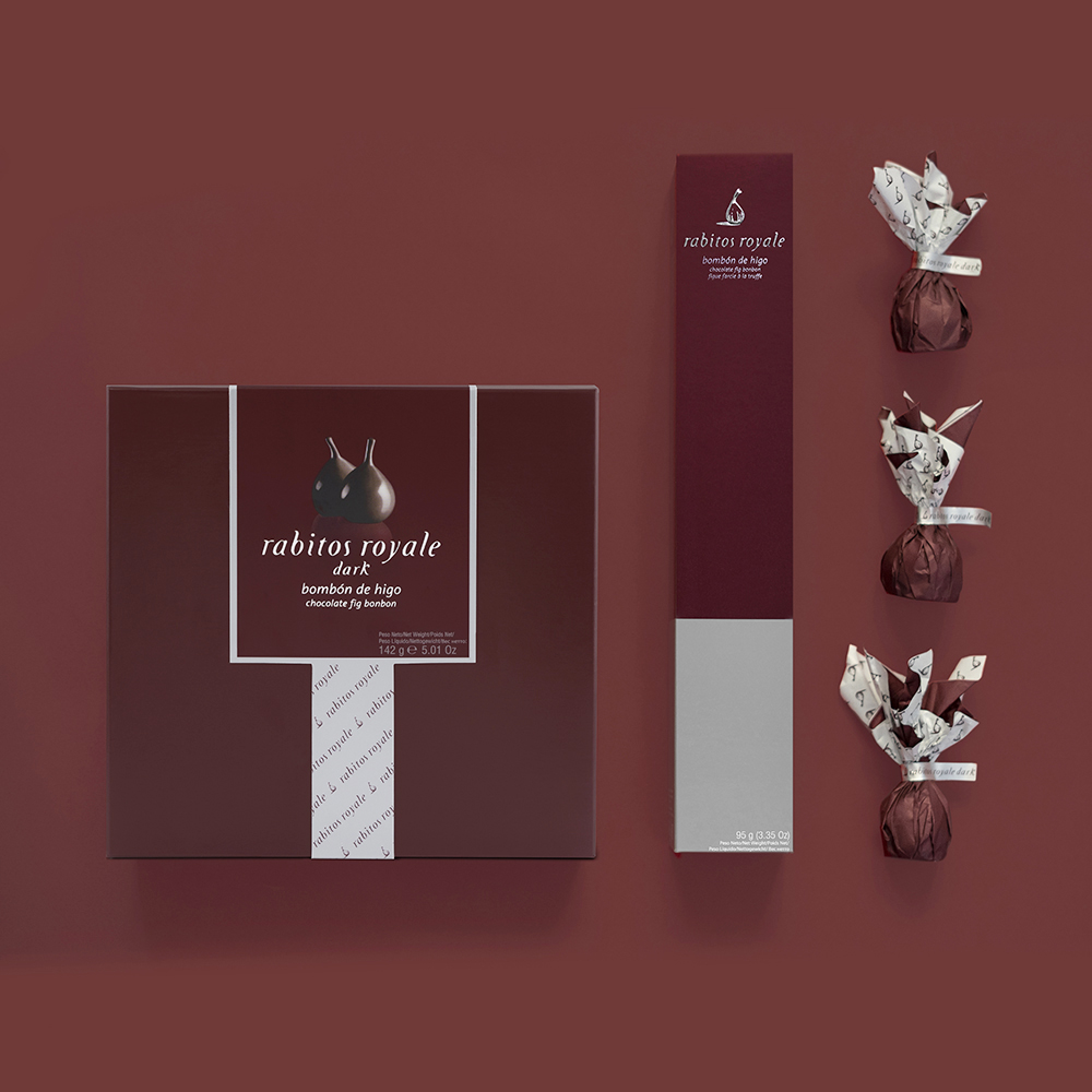 Delma Agency Restyling of línea Rabitos Royale Chocolate Brand