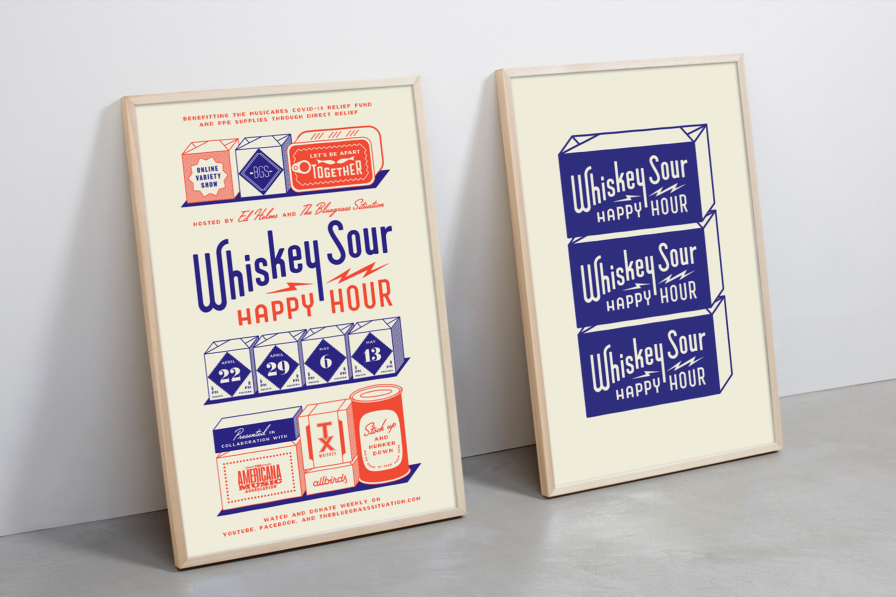 The Made Shop Created Digital Branding and Social Media Marketing for Whiskey Sour Happy Hour