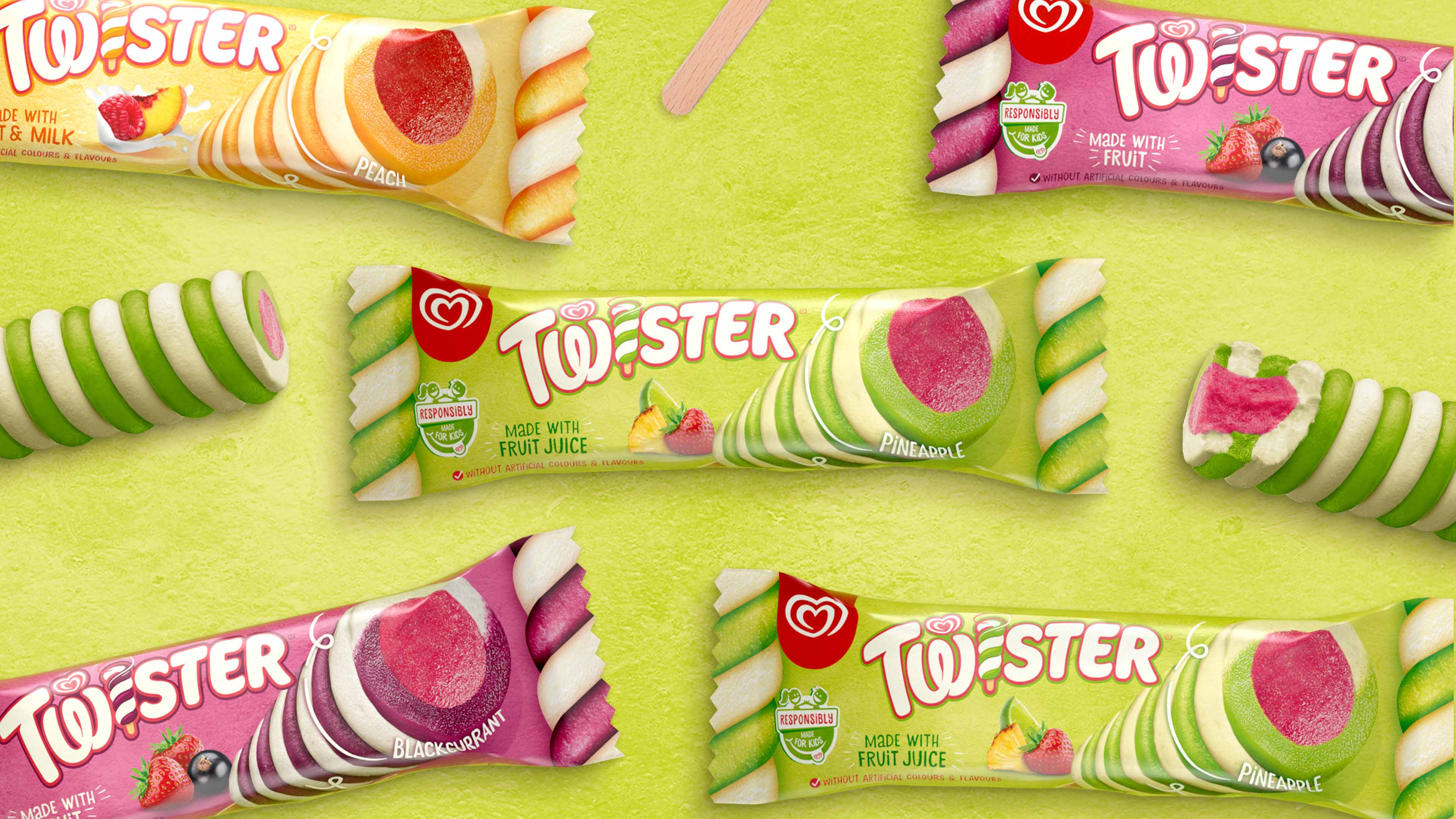 Sunhouse Gives Twister Packaging Design a Positively Different Spin