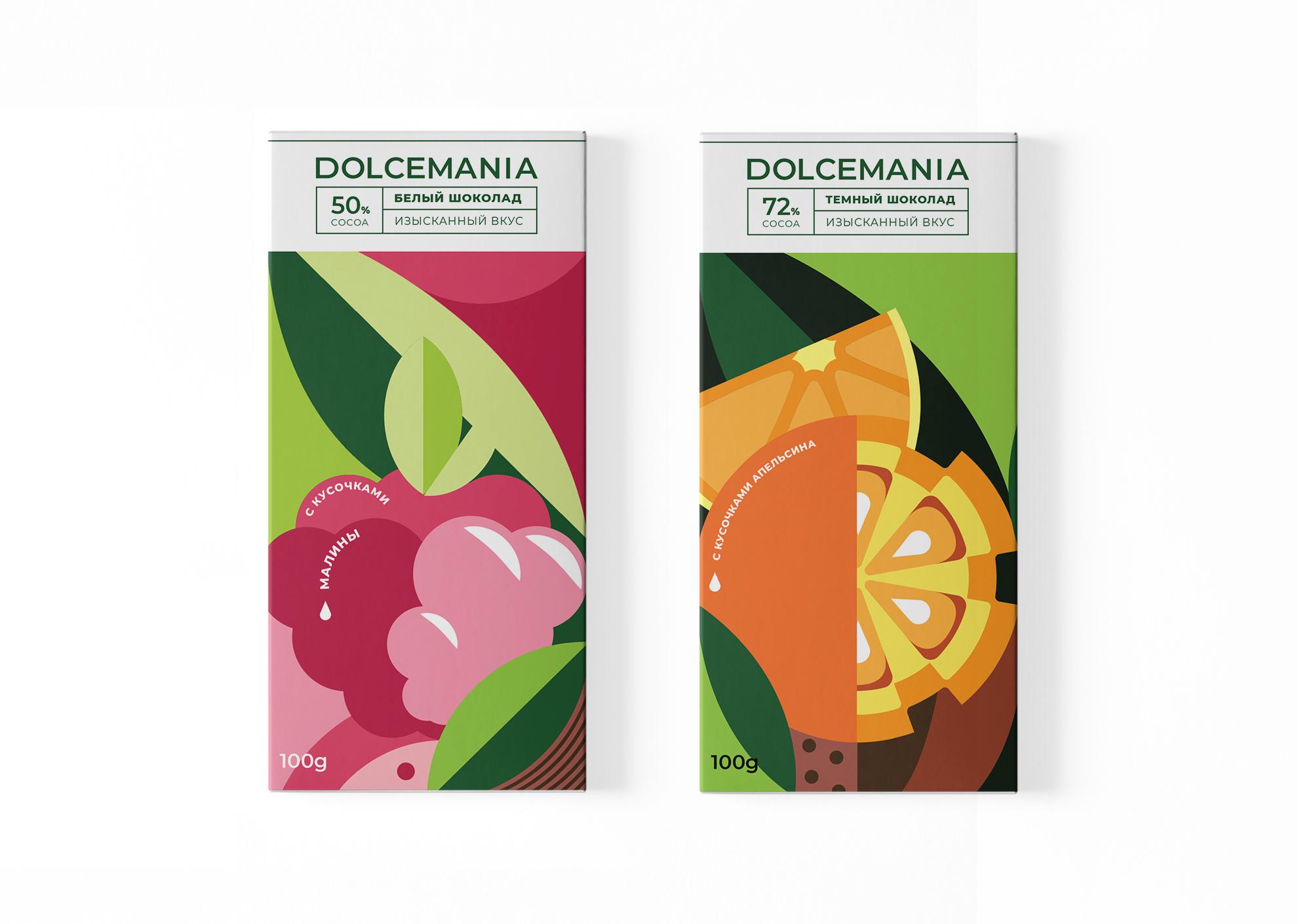 Anastasiya Yudina Creates Illustration and Packaging Concept for Dolcemania Chocolate