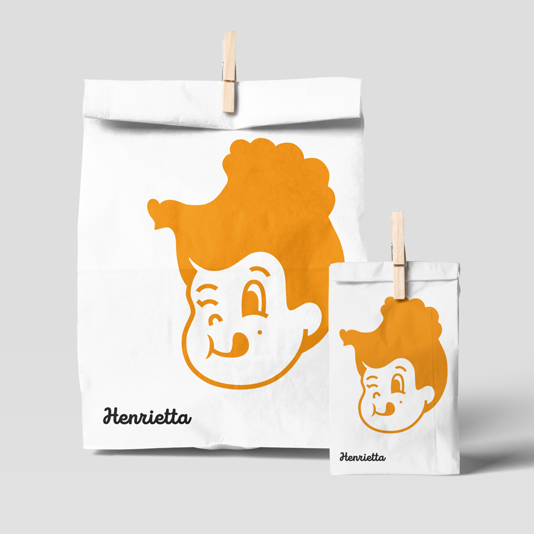 The Creative Method Design Nostalgic Brand Character for Henrietta Charcoal Chicken