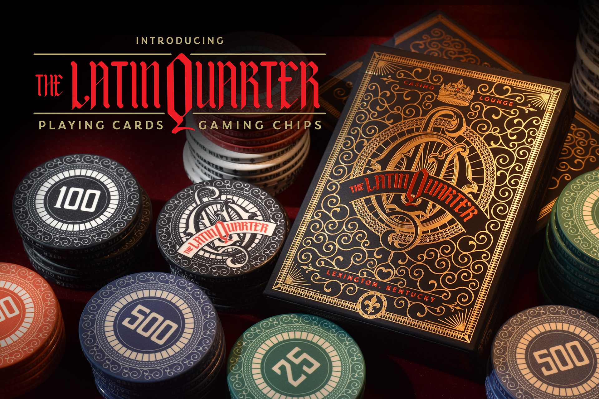 Stark Designs Playing Card and Gaming Chip Project