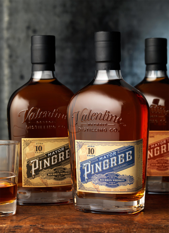 CF Napa Brand Design Creates Custom Bottle, Logo and Packaging Design for Mayor Pingree Line of Whiskies